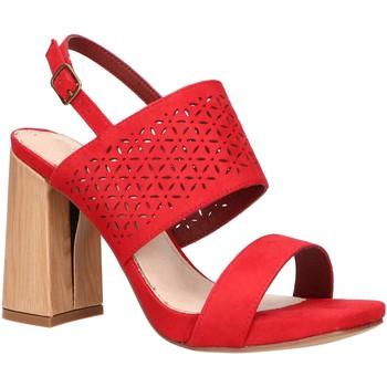 Scarpe Donna Sandali Maria Mare 67508 Rojo