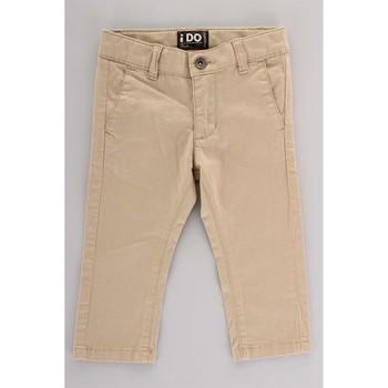 Abbigliamento Unisex bambino Pantalone Cargo Ido 4U230 Beige