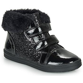 Scarpe Bambina Sneakers alte André JUDITH Nero