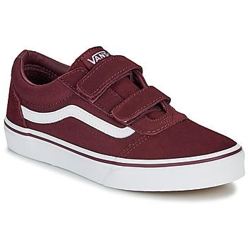Scarpe Unisex bambino Sneakers basse Vans WARD JU VL BDX Bordeaux