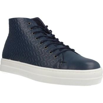 Scarpe Donna Sneakers alte Gas ROMA ETNICO Blu