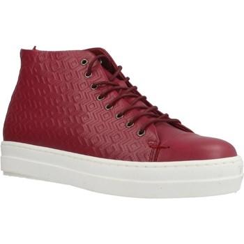 Scarpe Donna Sneakers alte Gas ROMA ETNICO Rosso
