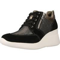 Scarpe Donna Sneakers alte Lumberjack SW24505 Nero