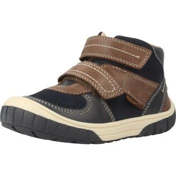 Scarpe Bambino Sneakers alte Geox B OMAR BOY Blu