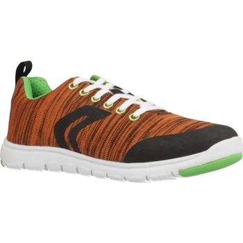 Scarpe Bambino Sneakers basse Geox J XUNDAY BOY Arancione