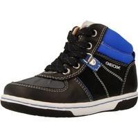 Scarpe Bambino Sneakers alte Geox B FLICK BOY Blu