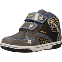 Scarpe Bambino Sneakers alte Geox B FLICK BOY Grigio