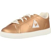 Scarpe Bambina Sneakers basse Le Coq Sportif COURTONE INF METALLIC Oro