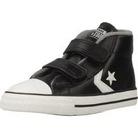 Scarpe Bambino Sneakers alte Converse STAR PLAYER 2V MID Nero