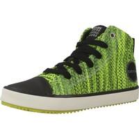 Scarpe Bambino Sneakers alte Geox J ALONISSO B. F Verde