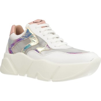 Scarpe Donna Sneakers basse Voile Blanche MONSTER MESH Bianco