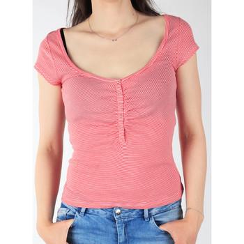 Abbigliamento Donna T-shirt maniche corte Lee L428CGXX red, white