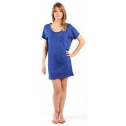 Abbigliamento Donna Abiti corti American Vintage ROBE CI88E11 INDIGO Blu