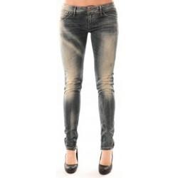 Abbigliamento Donna Jeans slim Meltin'pot Jean D1480/BD398 Bleu délavé Blu