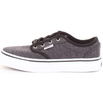 Scarpe Unisex bambino Sneakers basse Vans v3z9iq4-atwood Black-white