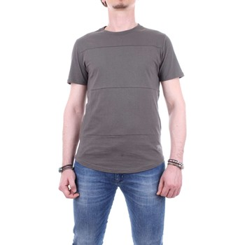 Abbigliamento Uomo T-shirt maniche corte Globe GB01631005-ARGO-TEE Grigio-melange