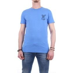 Abbigliamento Uomo T-shirt maniche corte Globe gb01720011-bliss-tee Maniche Corte Uomo Blu Blu