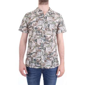 Abbigliamento Uomo Camicie maniche corte Xacus 41540 001 Beige