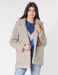 Abbigliamento Donna Cappotti Only ONLFILIPPA Grigio