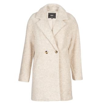 Abbigliamento Donna Cappotti Only ONLNINA Beige