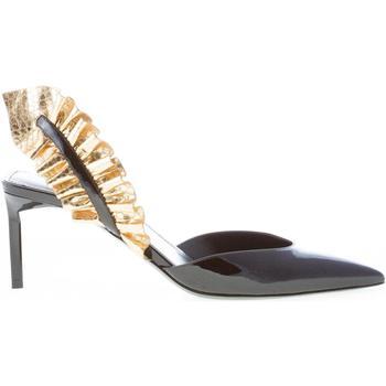 Scarpe Donna Décolleté Saint Laurent donna scarpa EDIE in venice NERO Tacco 7,5 cm nero