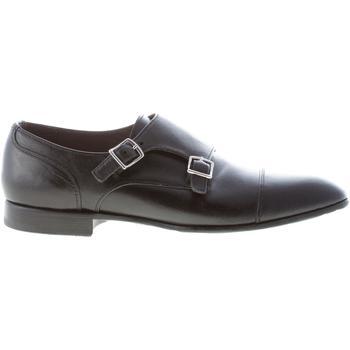 Scarpe Uomo Richelieu Green George uomo scarpa con doppia fibbia in pelle NERO nero