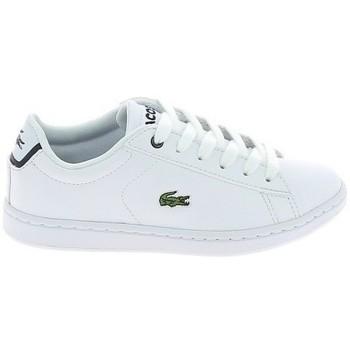 Scarpe Sneakers basse Lacoste Carnaby Evo BL C Blanc Marine Bianco