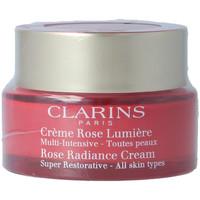Bellezza Donna Antietà & Antirughe Clarins Multi-intensive Crème Rose Lumière Toutes Peaux  50 ml