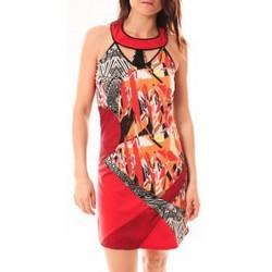 Abbigliamento Donna Abiti corti Bamboo's Fashion Robe BA1501 Rouge Rosso
