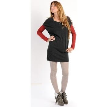 Abbigliamento Donna Vestiti American Vintage ROBE SOO247H10 ANTHRACITE Grigio