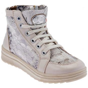 Scarpe Bambina Sneakers alte Laura Biagiotti 322 Mid Sportive alte bianco