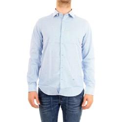 Abbigliamento Uomo Camicie maniche lunghe Manuel Ritz 2632E602L193293 Camicia Uomo Celeste Celeste