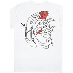 Abbigliamento Uomo T-shirt maniche corte Jacker Holy roses Bianco