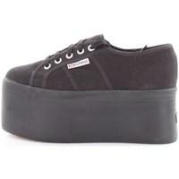 Scarpe Donna Sneakers basse Superga s00cdf0 Basse Donna Nero Nero