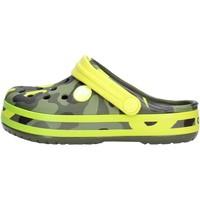 Scarpe Bambino Zoccoli Crocs - Crocband verde mimet 205532 VERDE