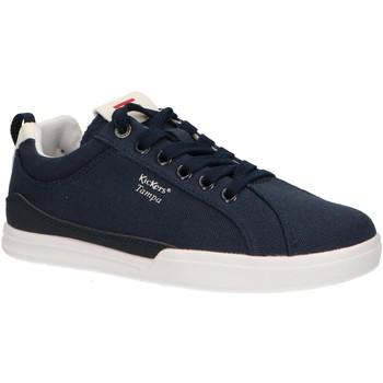 Scarpe Unisex bambino Sneakers basse Kickers 686090-30 TAMPA CDT Azul