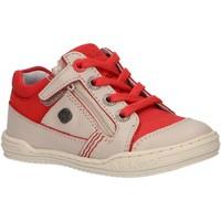 Scarpe Unisex bambino Sneakers alte Kickers 509031-10 JINJANG Gris