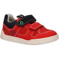 Scarpe Unisex bambino Sneakers basse Kickers 694150-10 WAHOU Rojo