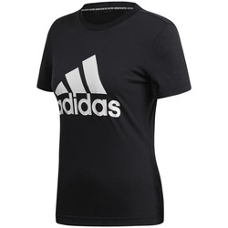 Abbigliamento Donna T-shirt maniche corte adidas Originals Must Haves Badge OF Sport Nero