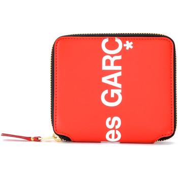 Borse Donna Portafogli Comme Des Garcons Portafoglio  Huge Logo in pelle rossa Rosso