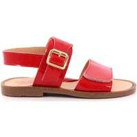 Scarpe Bambina Sandali Gorgino 19 - P3011-15 Rosso