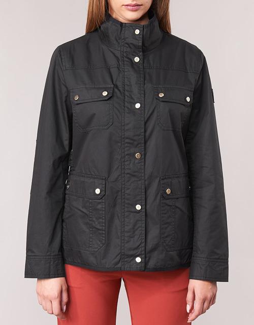 Lauren Abbigliamento Ralph Nero Jacket Consegna 22900 Field Gratuita Parka Donna I7gb6yfYvm