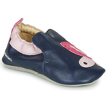 Scarpe Bambina Pantofole Catimini CITOLA Marine / Rosa
