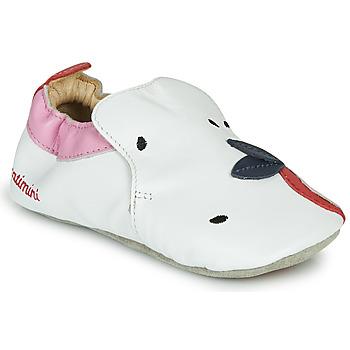 Scarpe Bambina Pantofole Catimini CIRINI Bianco / Rosa