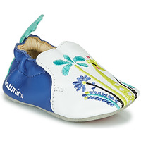 Scarpe Bambina Pantofole Catimini COLIMA Bianco / Blu