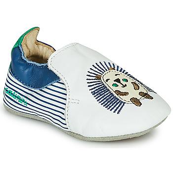 Scarpe Bambino Pantofole Catimini COFFI Bianco / Blu / Verde