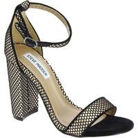 Scarpe Donna Sandali Steve Madden sandali da donna con tacco alto e cinturino in nero