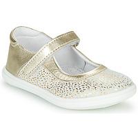 Scarpe Bambina Ballerine GBB PLACIDA Bianco / Oro