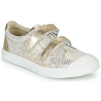 Scarpe Bambina Sneakers basse GBB NOELLA Bianco / Oro