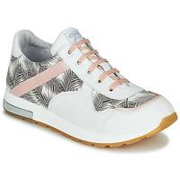 Scarpe Bambina Sneakers basse GBB LELIA Bianco / Nero / Rosa